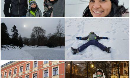 Perrengues, alegrias e neve intensa na vida de três macuxis no leste Europeu