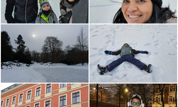 Perrengues, alegrias, neve intensa e + na vida de três macuxis no leste Europeu